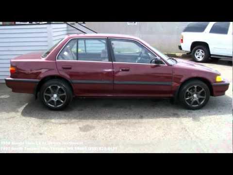 1990 honda civic lx 1995 at motors northwest youtube for 1990 honda civic motor