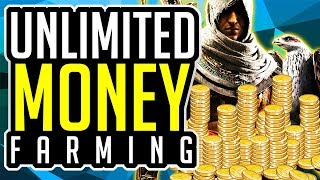 Assassin's Creed Origins | FASTEST MONEY FARMING UNLIMITED MONEY FARM | Best Money FARMING
