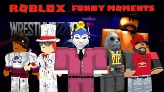 Roblox Funny Moments Ep. 8- Wrestling 2019 ALPHA