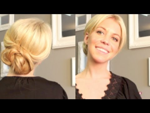 Simple chic updo youtube pmusecretfo Gallery