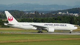 [SPECIAL] Japan Airlines    B777-246(ER)    TakeOff Zürich!