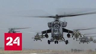 В небе над Ставропольем появились десятки вертолетов