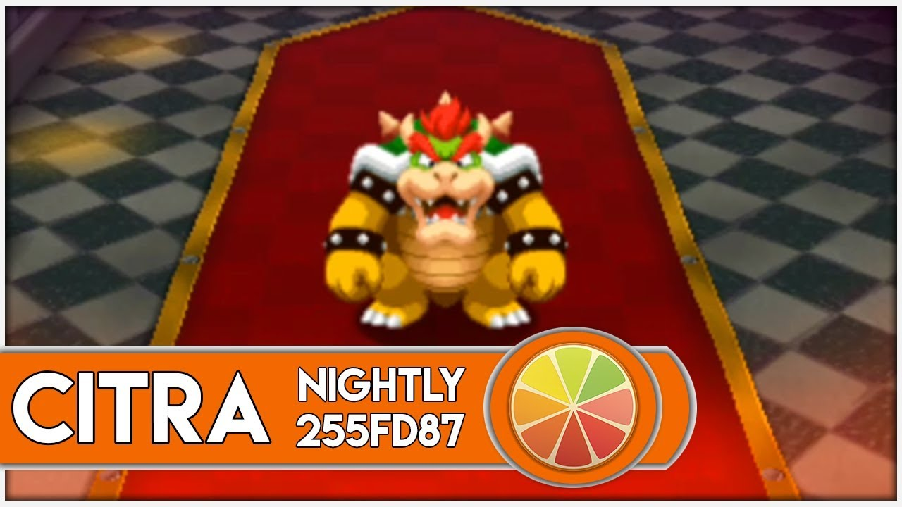 Citra Emulator Nightly Mario Luigi Paper Jam 1080p 3ds
