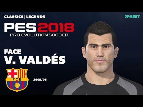 Víctor Valdés - FC Barcelona 2005-06 | PES 2018