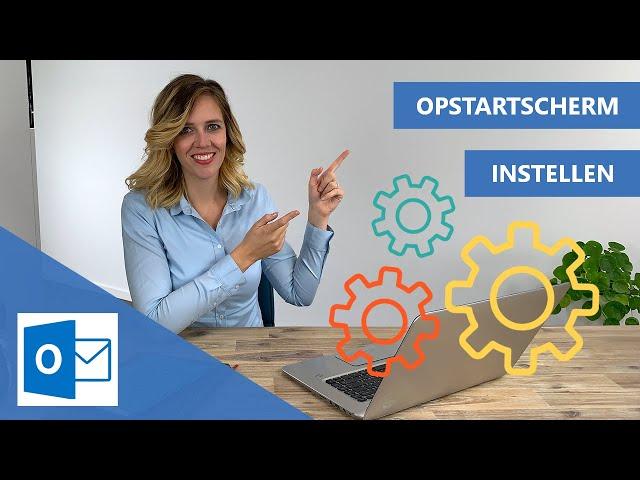 Outlook opstarten met agenda of takenlijst