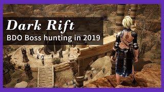Black Desert Online - Dark Rift Boss hunting