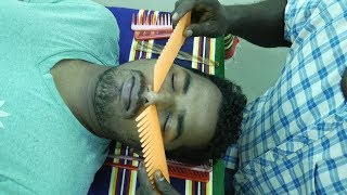Weird Comb Nose Massage Help For Sleep And Relax How To Nose Massage