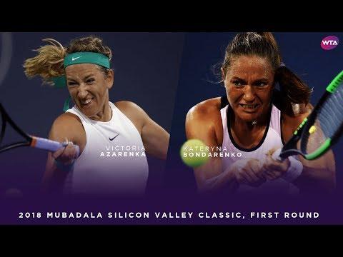 Victoria Azarenka vs. Kateryna Bondarenko | 2018 Mubadala Silicon Valley Classic First Round