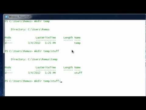 Windows Powershell Basics: Part1