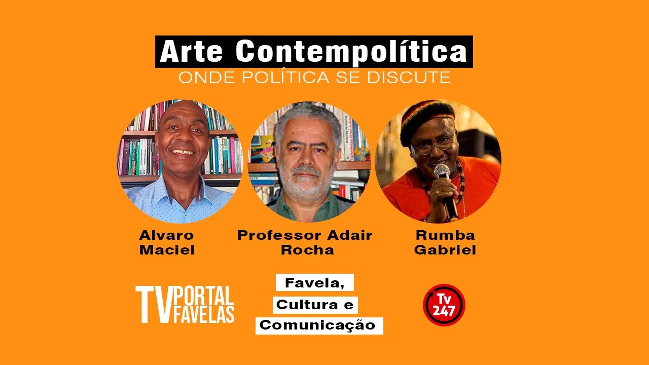 TV Portal Favelas apresenta Roda MulticÊntrica, hoje