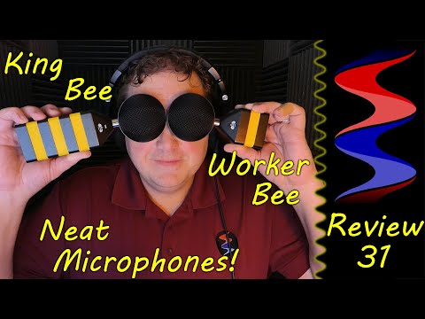 Neat Microphones King Bee vs Worker Bee Microphone - Sound Speeds Review