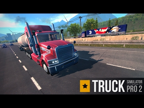 Truck Simulator PRO 2 Android GamePlay (By Mageeks Apps & Games)