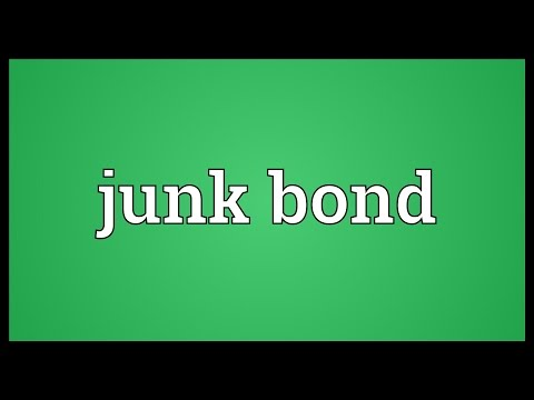 Junk bond Meaning