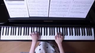 使用楽譜;ぷりんと楽譜・中級、 2017年1月3日 録画.