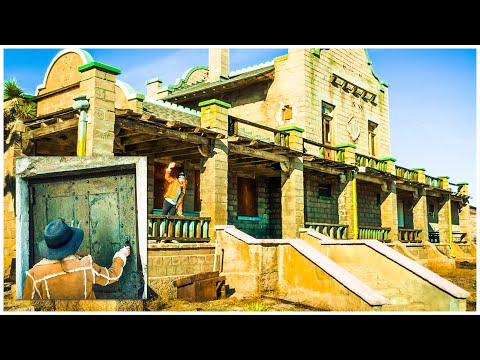 ABANDONED - UNBELIEVABLE HISTORIC GHOST TOWN Death Valley **Rhyolite**