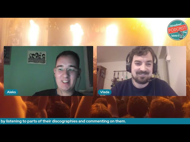 Music Enthusiasts Vlada & Aleks from Soundrise Podcast