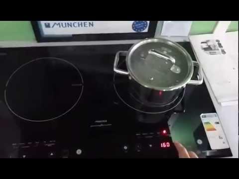 Đun nước sôi bằng bếp từ Munchen M50 cực nhanh