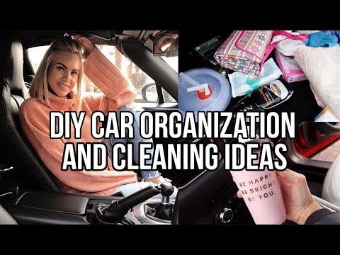 DIY CAR ORGANIZATION AND CLEANING IDEAS AD