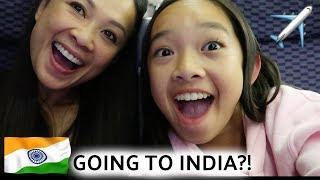 I'M GOING TO INDIA?! INDIA VLOG #1   Nicole Laeno