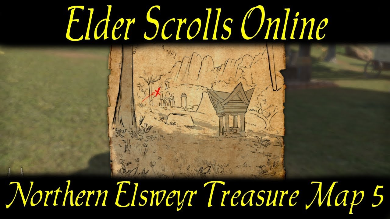 Northern Elsweyr Treasure Map 5 [Elder Scrolls Online] ESO