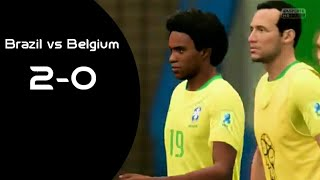 FIFA 18|| Brazil vs Belgium || match gameplay -PS4 HD