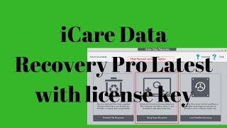 iCare Data Recovery Pro Latest with license key