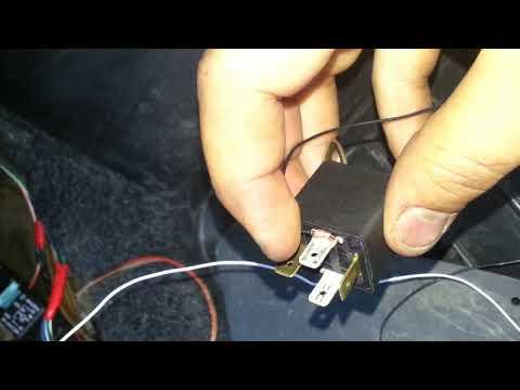 ВАЗ 2112,2110 как подключить принудительное охлаждение двигателя с салона