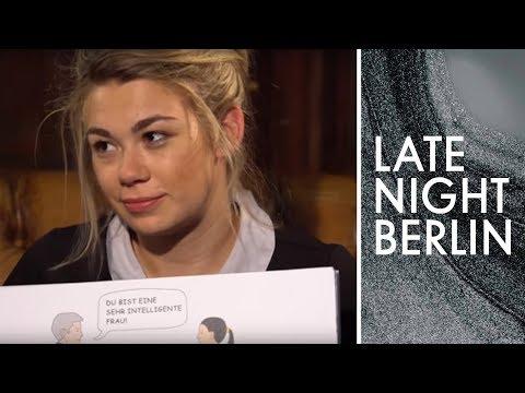 Ronja Von Rönne Trifft Flirtexperten | Late Night Berlin | ProSieben