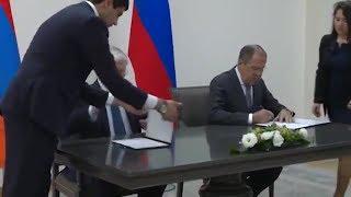 Переговоры Сергея Лаврова с главой МИД Армении (Ереван, 21 ноября 2017 года)
