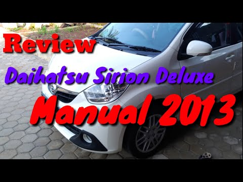 Review Daihatsu Sirion Deluxe 2013 manual