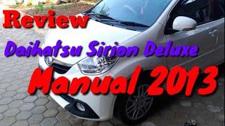 Review Daihatsu Sirion Deluxe 2013 manual