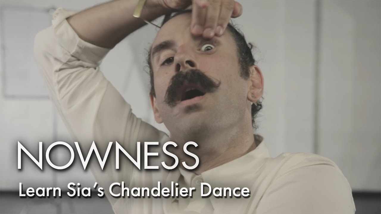Learn sias chandelier dance with ryan heffington youtube mozeypictures Image collections