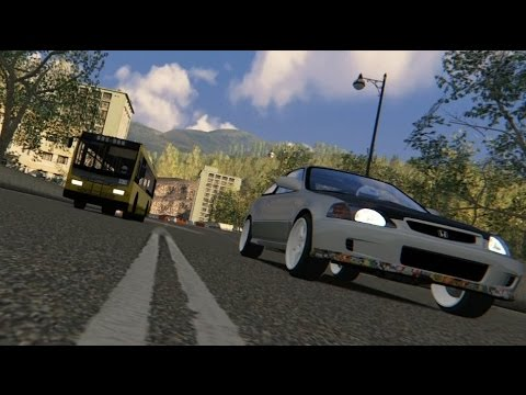 [Assetto Corsa][Initial D Parody]亡命之途(Bus Driver Lost His Self Control) Eng. Sub., 中文字幕