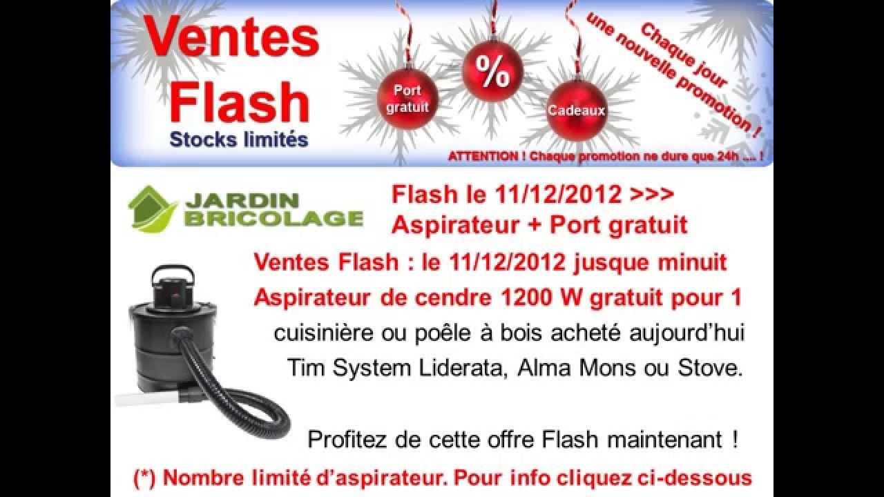 Jardin bricolage vente flash vid o port aspirateur gratuit p - Marmara ventes flash ...
