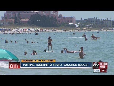 Parents in Action: Putting together a family vacation budget