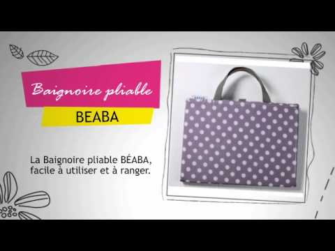 baignoire pliable beaba youtube. Black Bedroom Furniture Sets. Home Design Ideas