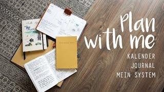 Plan with me - DIY Kalender, Bullet Journal, Organisationsstuktur