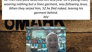 Lesson 101 Mark 14:50-52 October 29, 2020