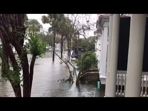 Flooding In Charleston, S.C.