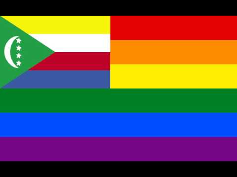 LGBT Ensign of Comoros
