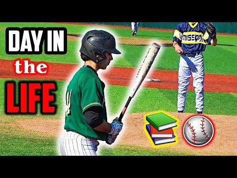 A Day in the Life of a College Athlete: Baseball Player (Ep. 2)