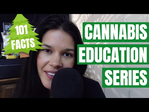 101 Facts About Cannabis ~ ASMR Side-to-Side Whispering