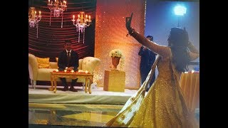 Bride's Surprise Engagement Dance || A Special Tribute to Love