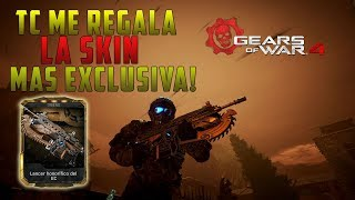 Gears of war 4 | The Coalition Me REGALA la SKIN MAS EXCLUSIVA! (LANCER HONORIFICA)