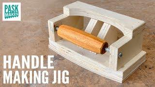 Handle Making Jig - How to Make Tool Handles