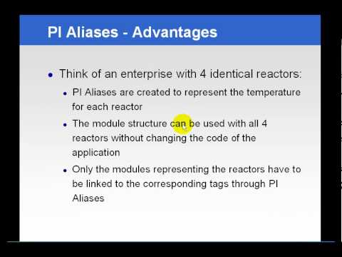 Osisoft Aliases And Properties In The Pi Module Database V2