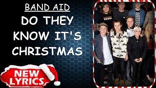 Band Aid - Do They Know It's Christmas (Lyrics) | Christmas Songs Lyrics