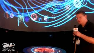 ISE 2014: Domeprojection.com Shows Off Interactive Dome Controlled by Multi-Touch System