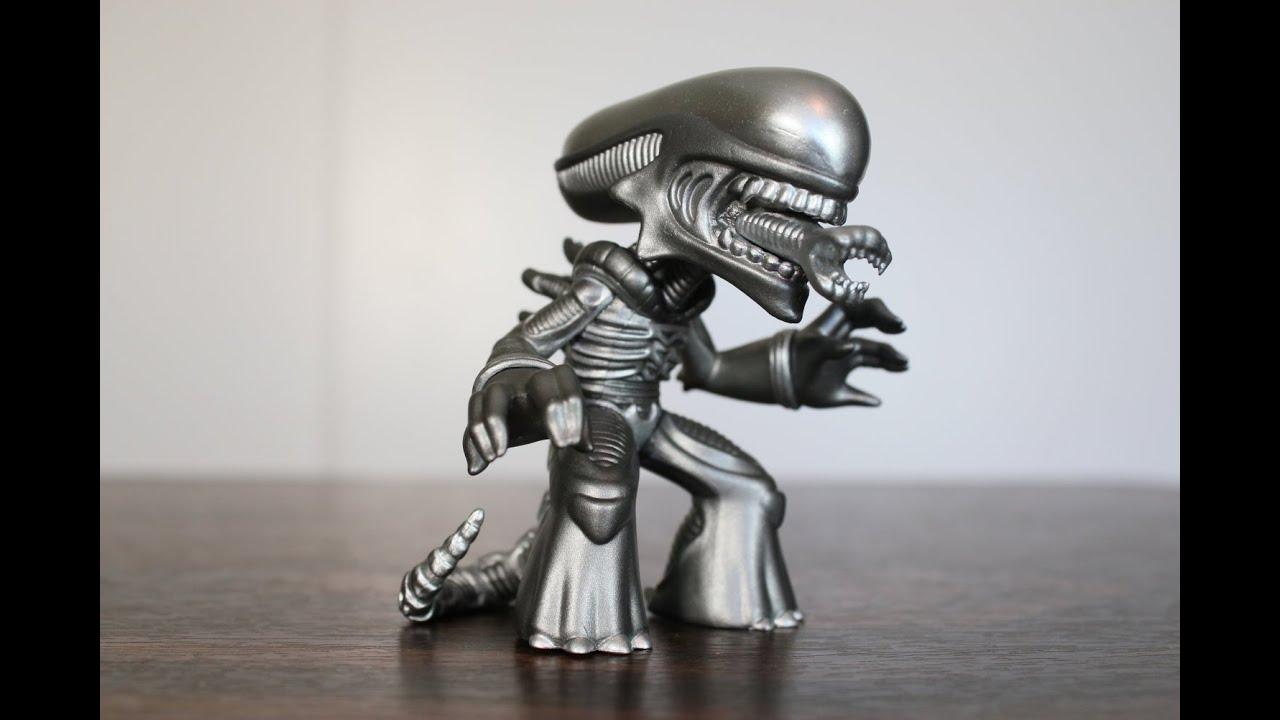 Metallic Alien Xenomorph Funko Science Fiction Mystery