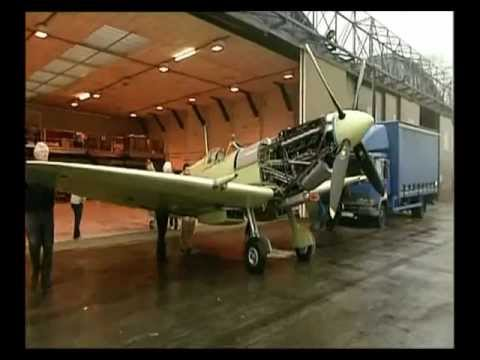 Martin Phillips' Spitfire last aircraft at Filton rebuilt by